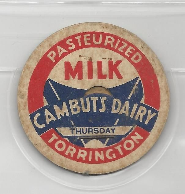 Cambuts Dairy milk cap-Torrington, Connecticut