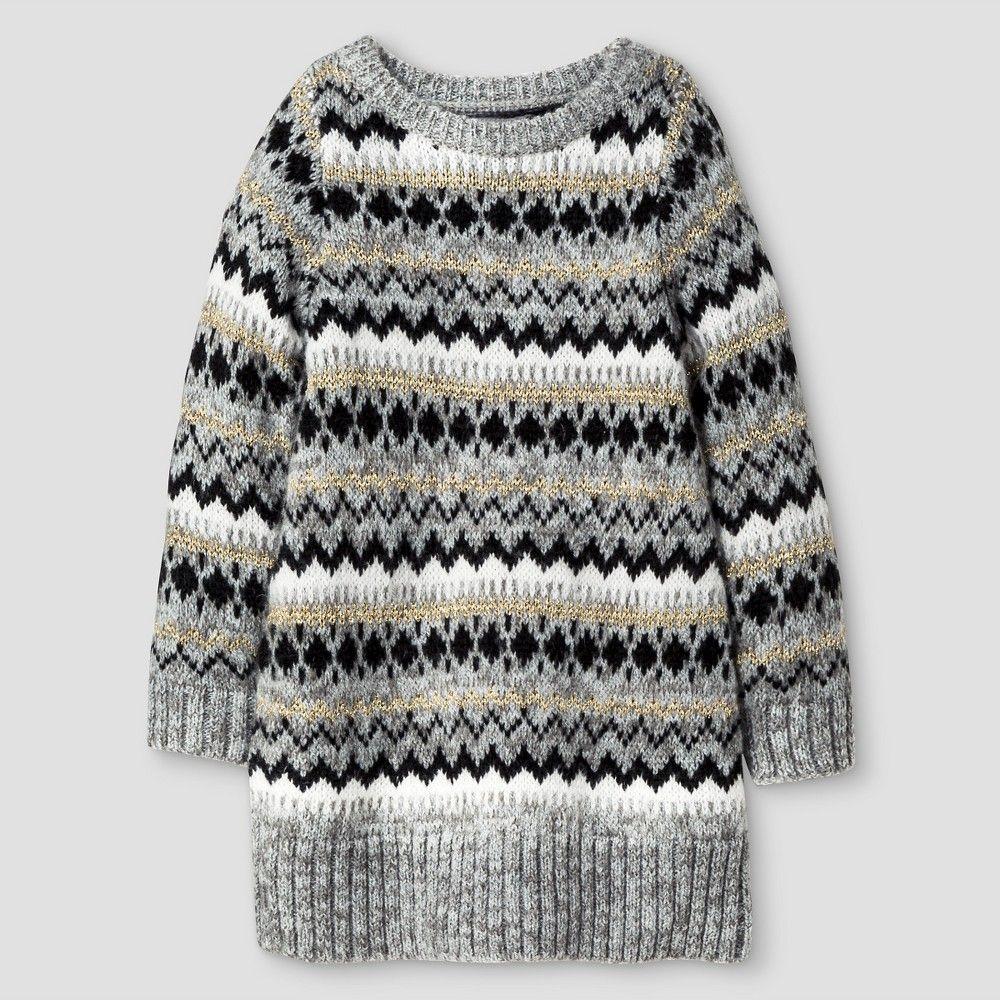 22489d8c9 Baby Girls  Sweater Dress Cat   Jack - Gold 18 M