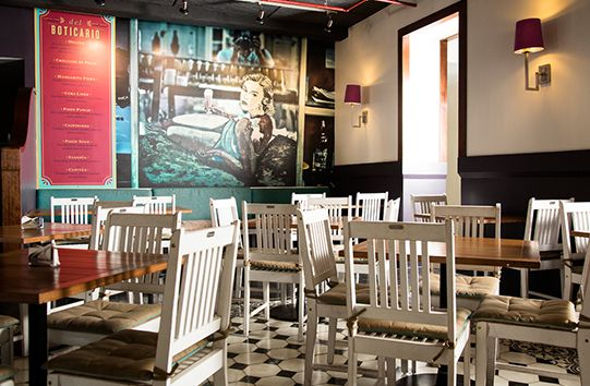 this multi format cafe covers a number of day parts and has a look thats - Multi Cafe Decoration
