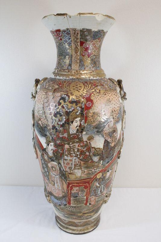 Japanese vase vintage satsuma How to