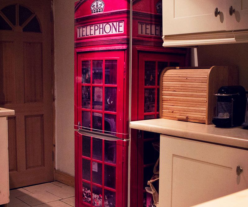 Uk Telephone Box Fridge Wrap In 2019 Products I Love