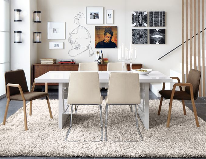 Unlock affordable modern win a cb2 gift card anne sage dining room wallsapartment designapartment ideasdrakefurniture