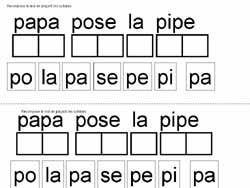 Remarquable lecture fiches gratuites maternelle grande section lire phrases OP-64