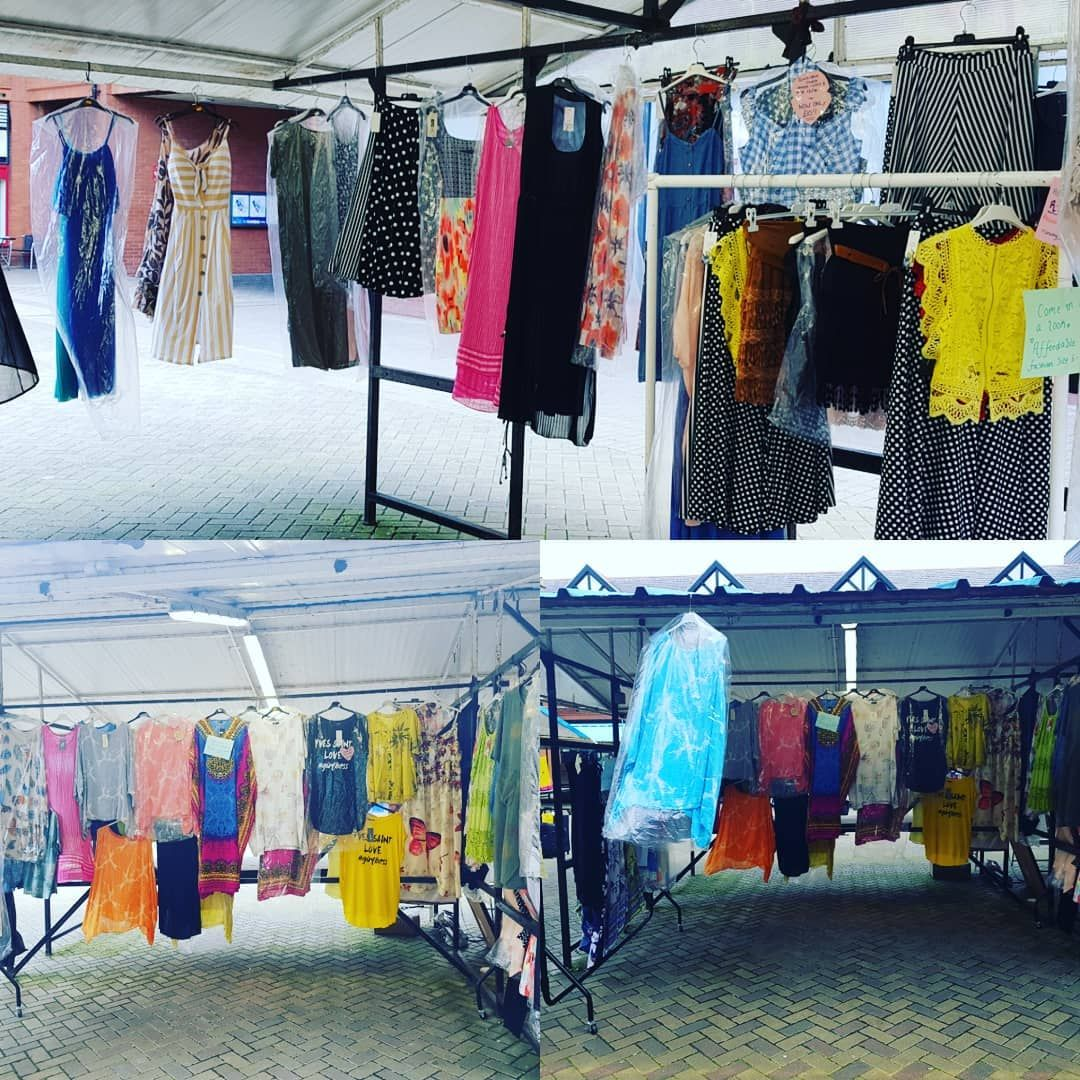 Blue Skies We Are Over At Wigan Market Today Come On Down Plenty Items Under 10 And Lots Of New Arrivals Too Shopping Outfit Holiday Outfits Wigan