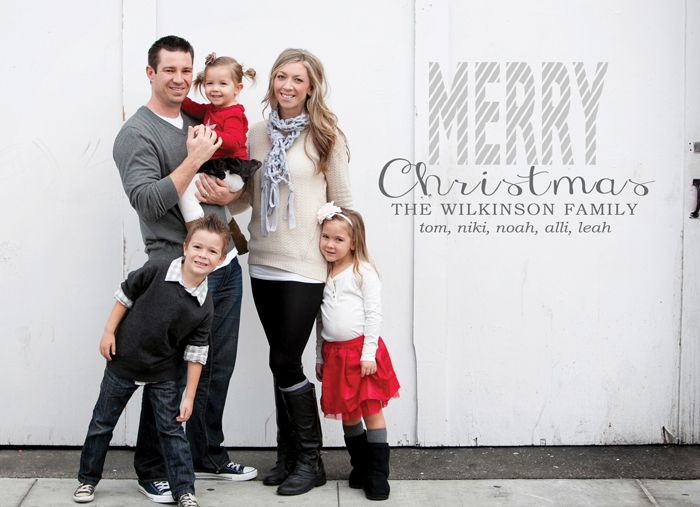 The Wilkinson Family Christmas Card / Photography + Design ...