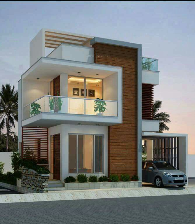 Front Elevation Design Ideas From Architects In Jaipur: Pin Oleh Faisal A Yaqub Di Architecture ... (Dengan Gambar