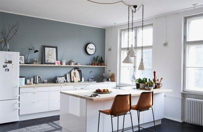 Pop up Farbenfrohe Küche mit bunter Bar - Alles was du brauchst um - küche mit bar