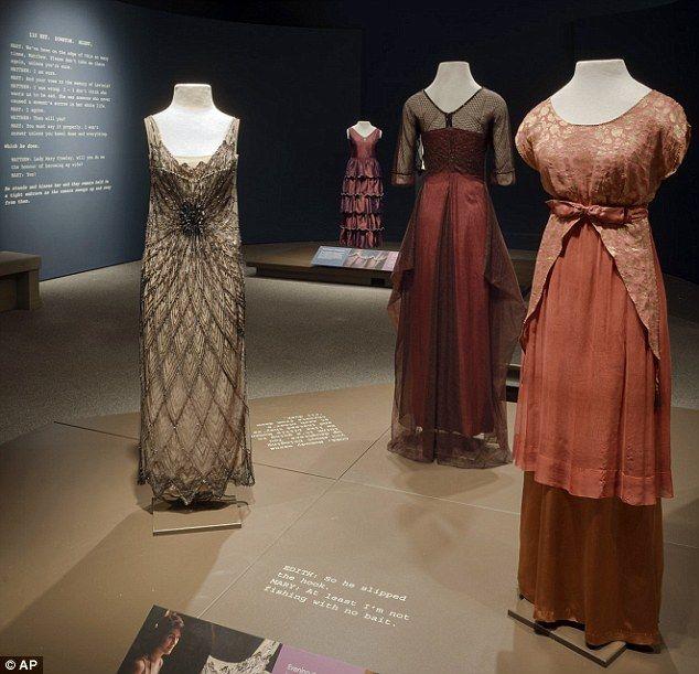 A Pinch of Pixie Dust Costumes of Downton Abbey Exhibit at Winterthur | 1920u0027s | Pinterest | Winterthur Gatsby costume and Costumes & A Pinch of Pixie Dust: Costumes of Downton Abbey Exhibit at ...