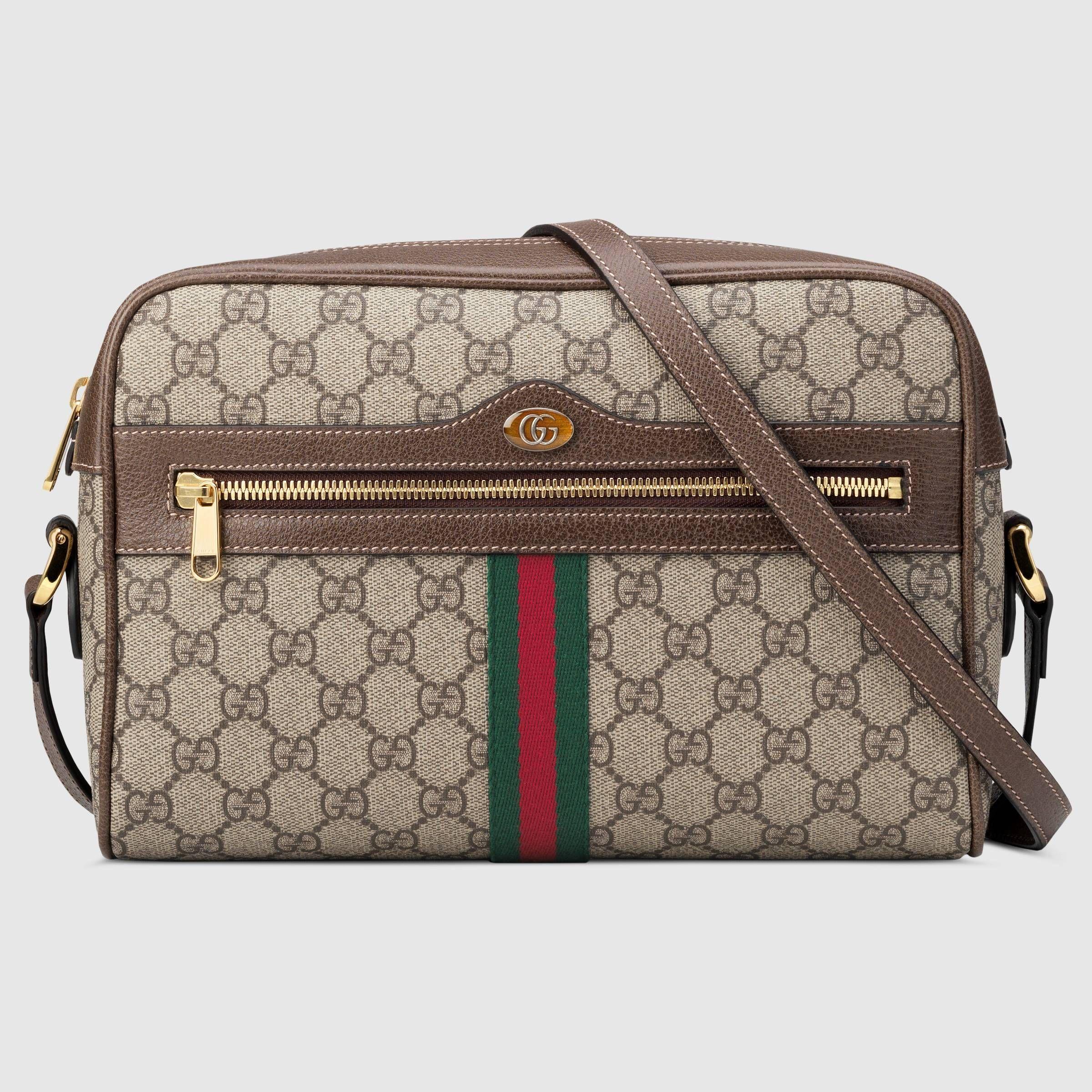 c2b1426bbe1 Ophidia GG Supreme small shoulder bag - Gucci Women s Shoulder Bags  51708096I3B8745 Gucci Shoulder Bag