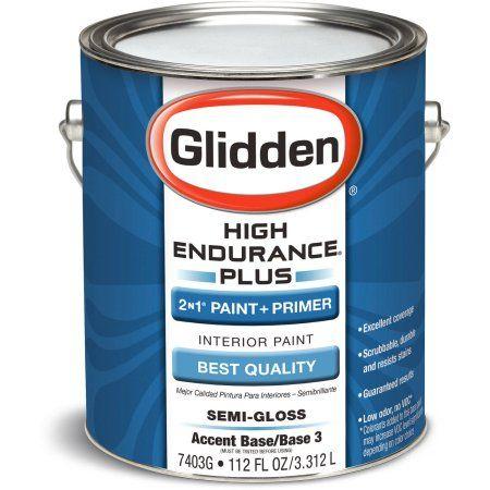 High Endurance Plus Accent Base Semi Gloss Interior Paint, 1-Gallon