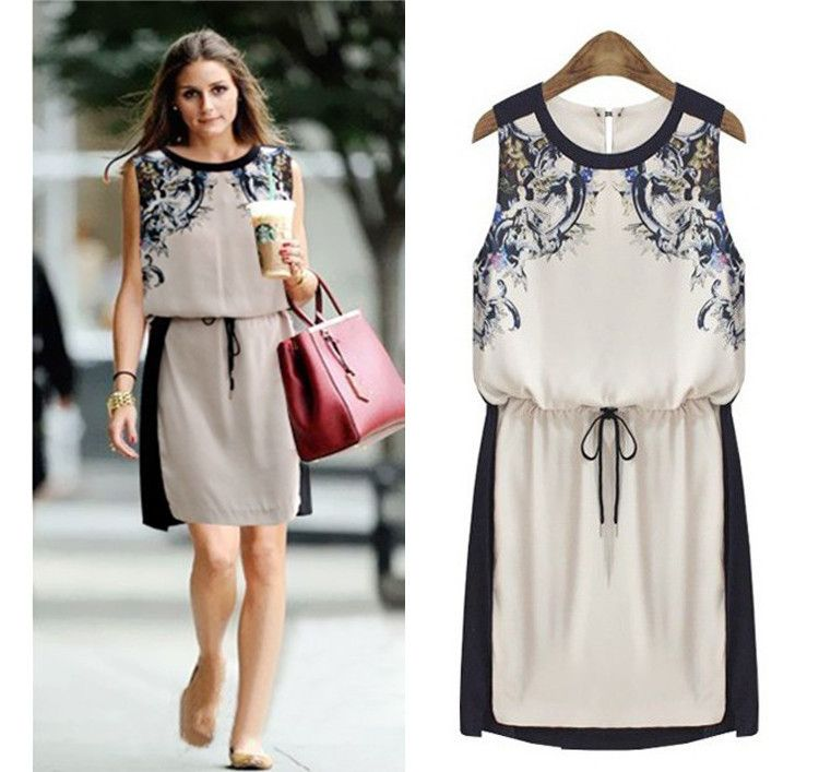 2014 New Summer Women's Clothing High Quality Fashion Casual Dress ...