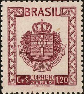 5th Congress Porto Alegre | Brasil selos | Stamp world, Love stamps