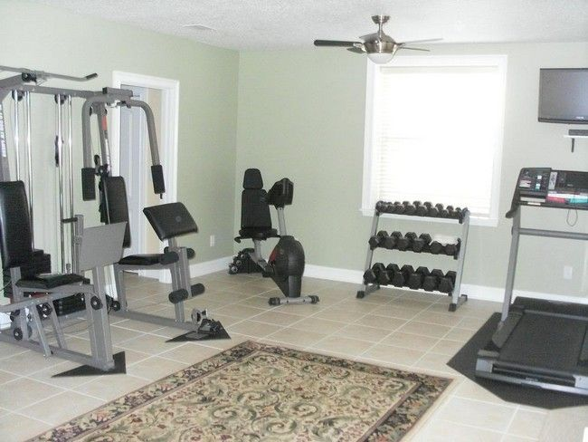 Spice Up Your Home Workout Sessions Through The Way You Design Your Small Home Gym Decor Around The World Home Gym Flooring Home Gym Decor Small Home Gyms