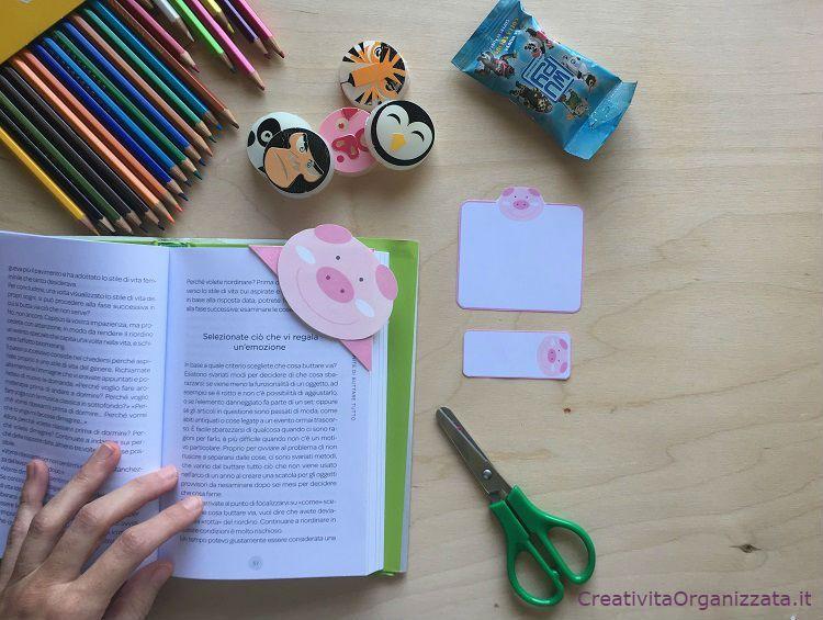 Segnalibro Bambini ~ Segnalibro e note adesive fai da te stampabili