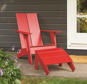 Awesome Modern Adirondack Chair Plan Plans Free Download