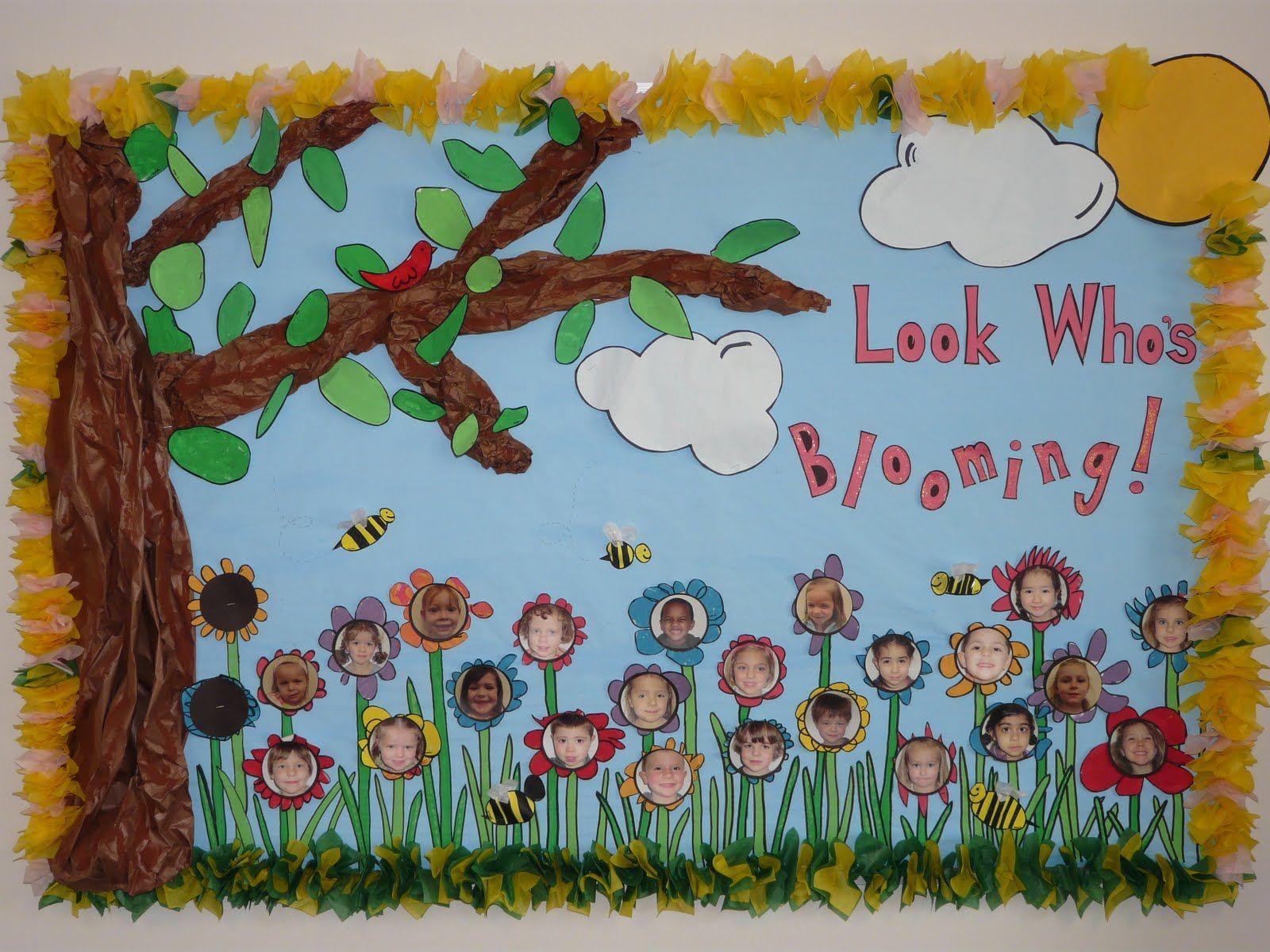 Preschool Bulletin Board Ideas Bulletin Board Ideas Spring Into