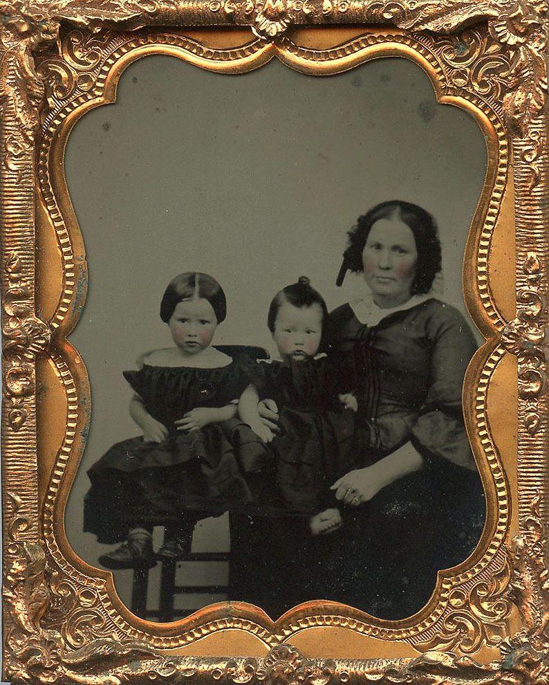 Mother Cute Little Kids Tinted Cheeks Fashion Ninth Plate Ambro   eBay