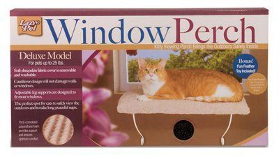 Lazy Pet Deluxe Model Window Perch For Cats >>> Check out this great image  : Furnitures that cats love