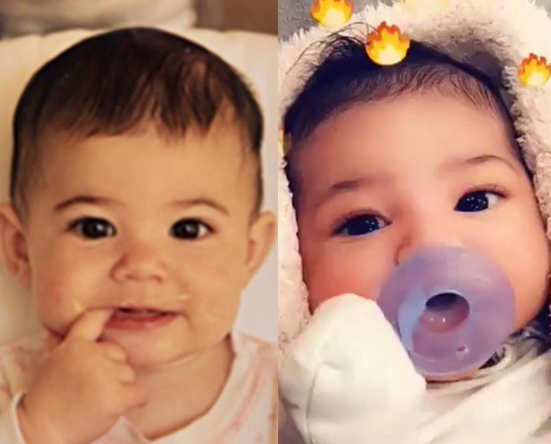 43adc70a76fd Kylie Jenner Debuts Close-Up Photos And Video Of Baby Stormi — 'KUWK ...