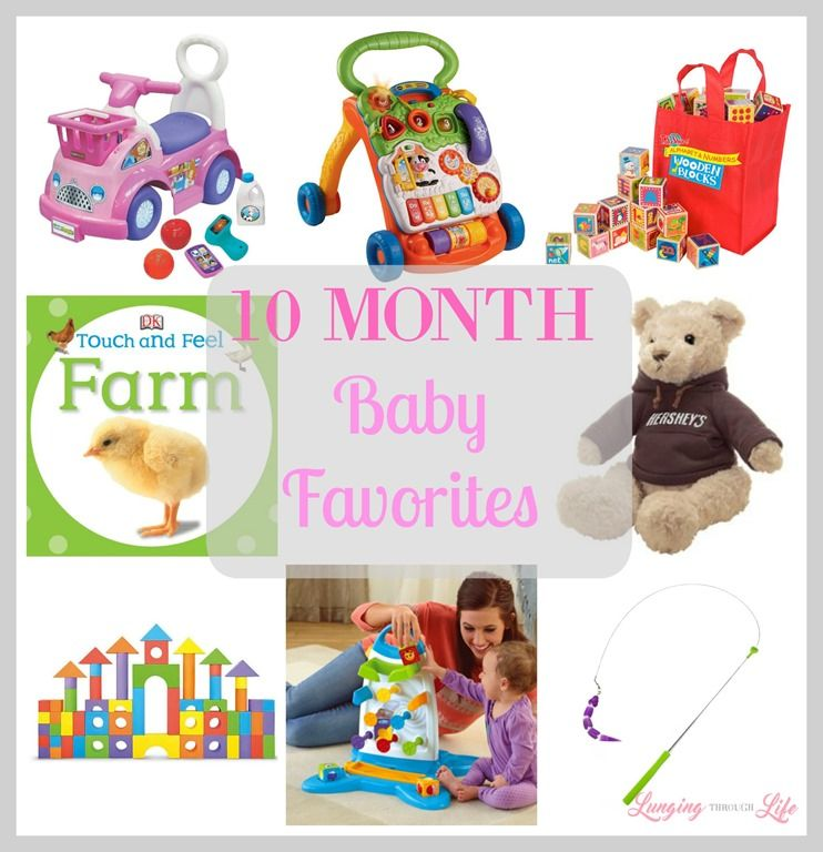 10 Month Baby Favorites Foster Your Child S Learning With These Toys For 10 Month Olds Baby Month By Month 10 Month Old Toys Baby Christmas Gifts