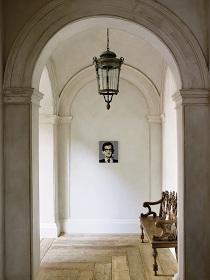 Décor de Provence: Rose Uniacke...love the floor and the arched doorways and the trim details and the...:)