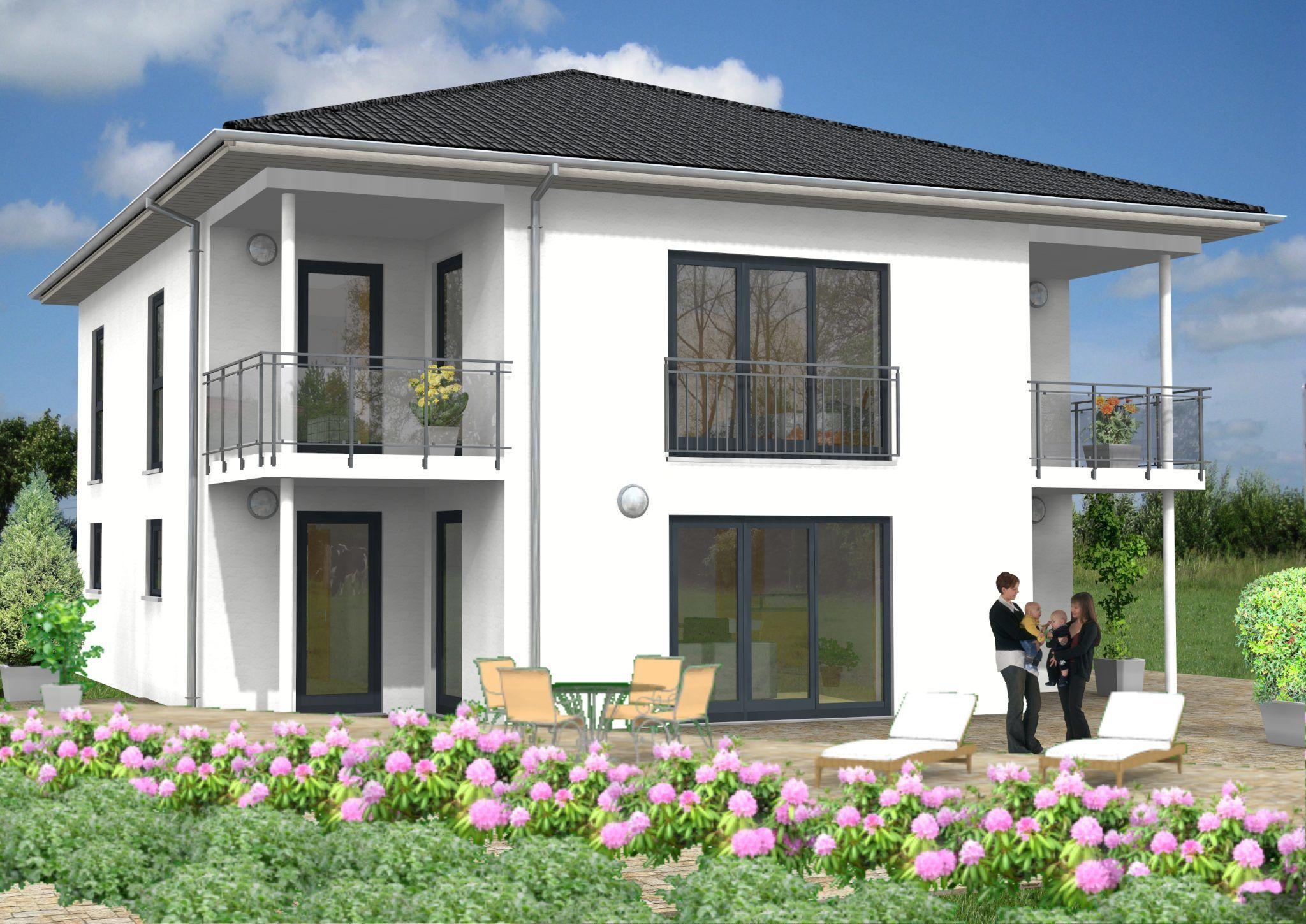 Haus Idee Stadtvilla mit einer Wohnfläche von ca. 200 m²