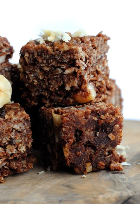 Photo of Milk Chocolate Flapjack Recipe With Hazelnuts – Great British Chefs