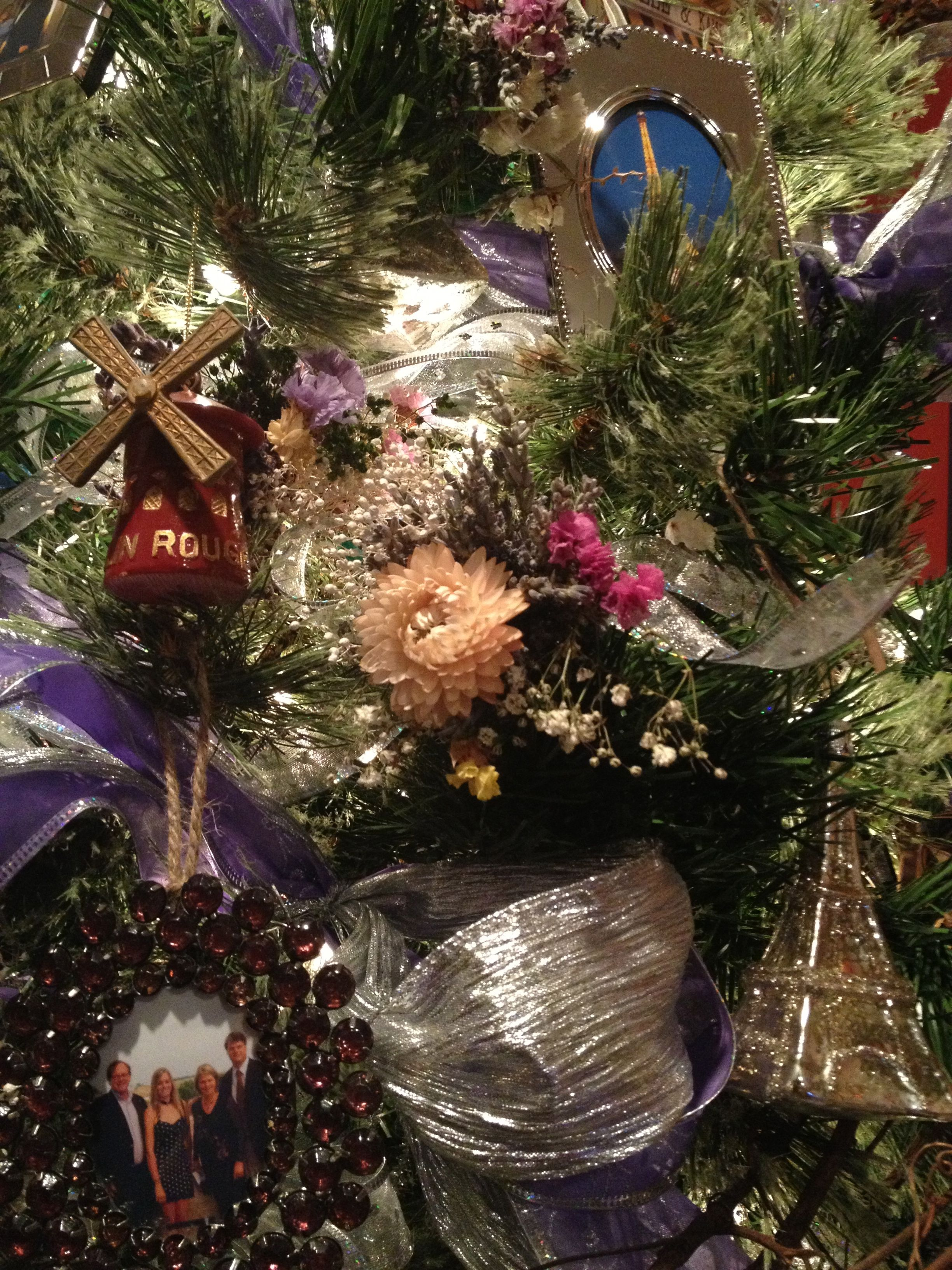 Lavender christmas ornaments - Lavender Baby S Breath Dried Flower Christmas Ornaments And Bouquets From Mt Airy Lavender