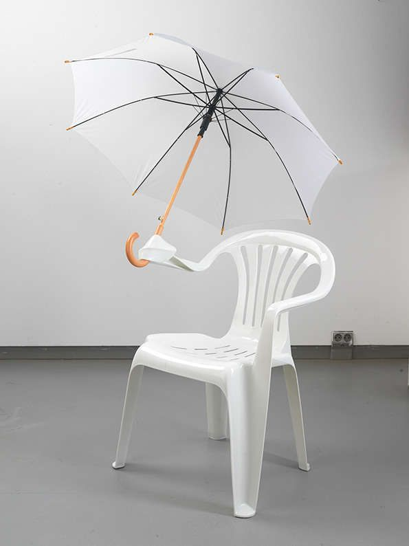 Charming Plastic Chair Sculptures White Plastic Chairs Unique Furniture Art Chair