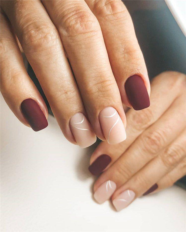 40 Unique And Classy Nail Designs In Autumn 2019 Classy Nails Classy Gel Nails Classy Nail Designs