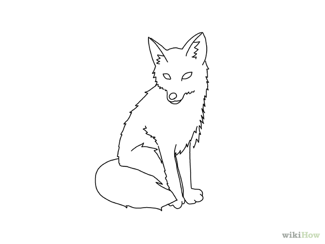 Draw A Fox Foxes Drawings And Drawing Faces