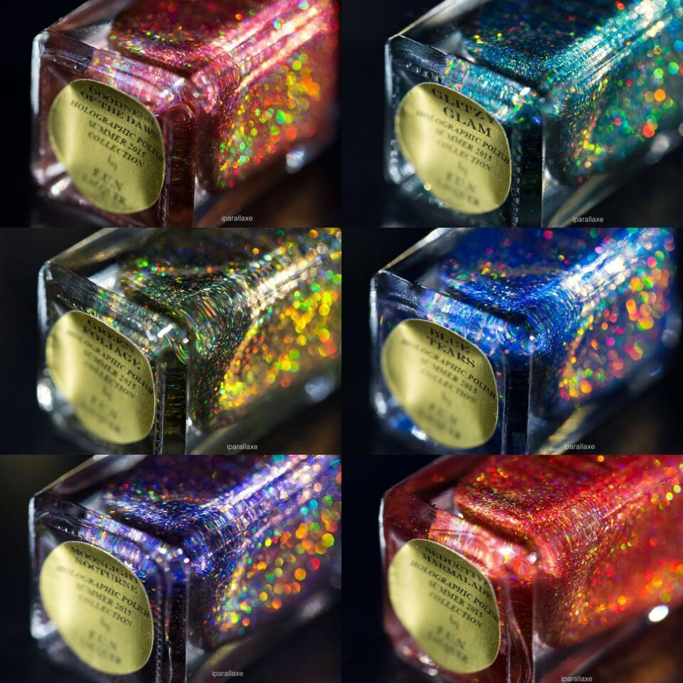 F.U.N. Lacquer Summer 2015 Collection by @iparallaxe
