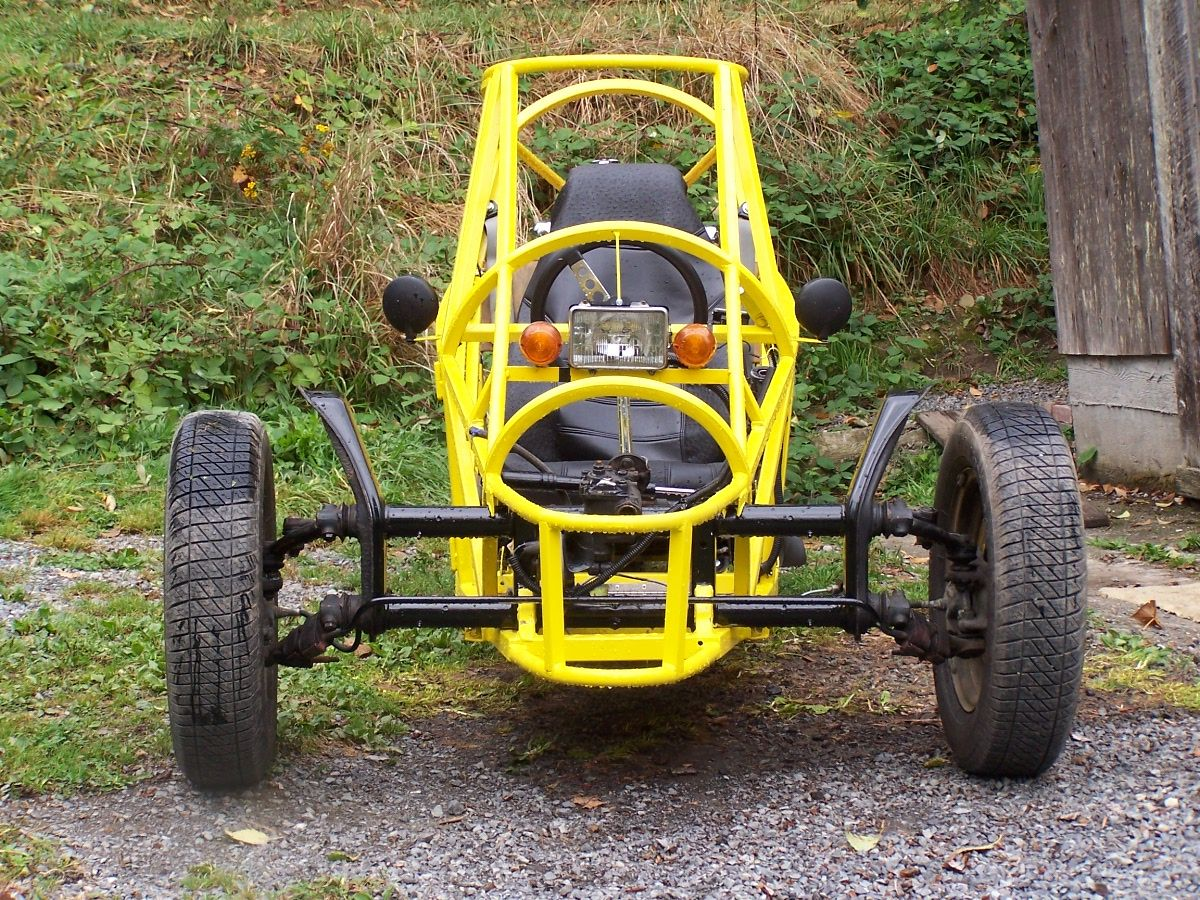 Three Wheeler Frame : Homemade wheel motorcycles trike axle http