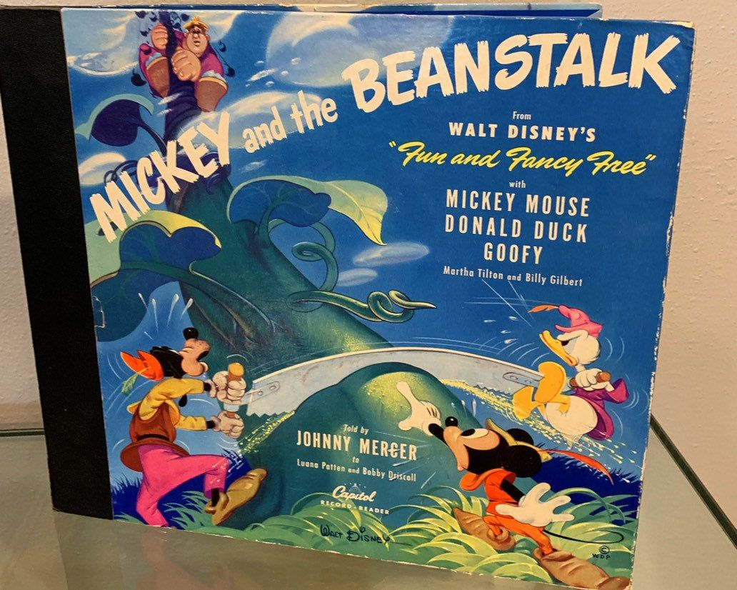 Vintage Records 1940s Walt Disney Mickey Mouse And The Etsy Walt Disney Mickey Mouse Disney Movie Club Disney Fun