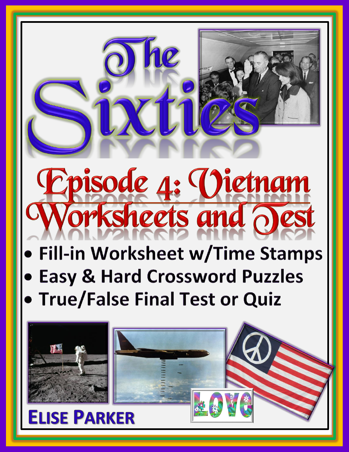 The Sixties Episode 4 Worksheets Puzzles And Test