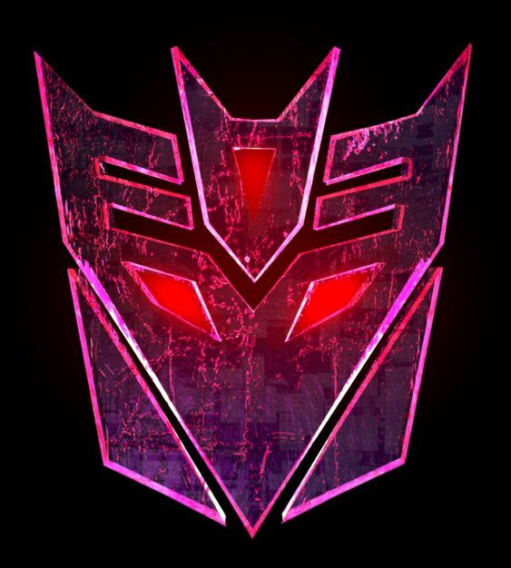 Purple Decepticon Emblem Decepticon Purple Logo Custom