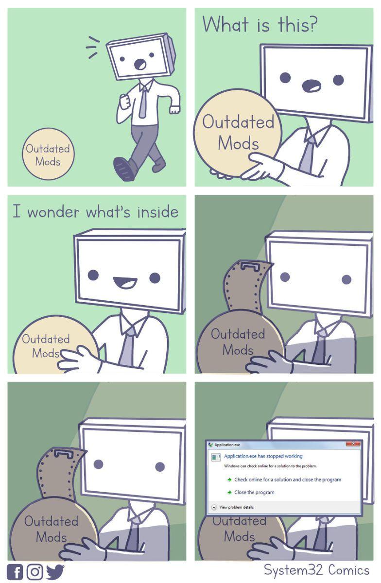 8 Funny Computer Comics That Everyone Will Find Relatable Computer Humor Comics Computer Memes