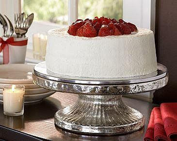 mercury glass cake stand - pottery barn. & mercury glass cake stand - pottery barn. | Cake Plates | Pinterest ...