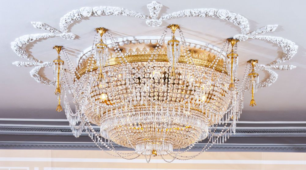 Shine With Chandeliers Chandelier, Millenial pink