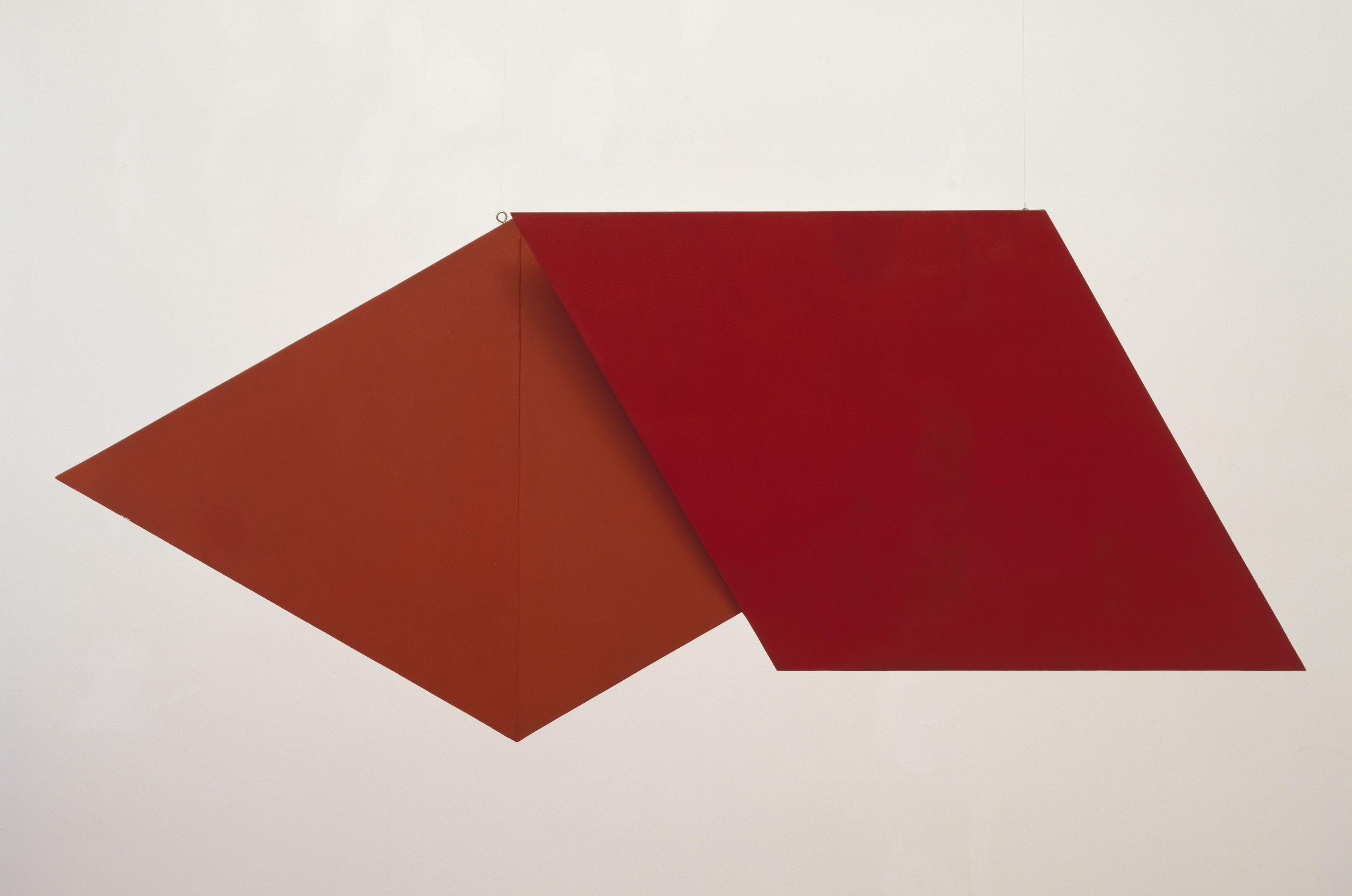 Hélio Oiticica Relevo Espacial (Vermelho) REL 036 (Spatial