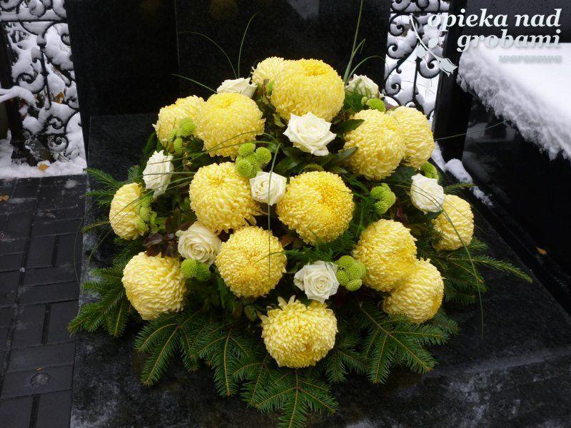 Stroiki Na Wszystkich Swietych 2015 Szukaj W Google Funeral Flower Arrangements Flower Arrangements Diy Flower Arrangements