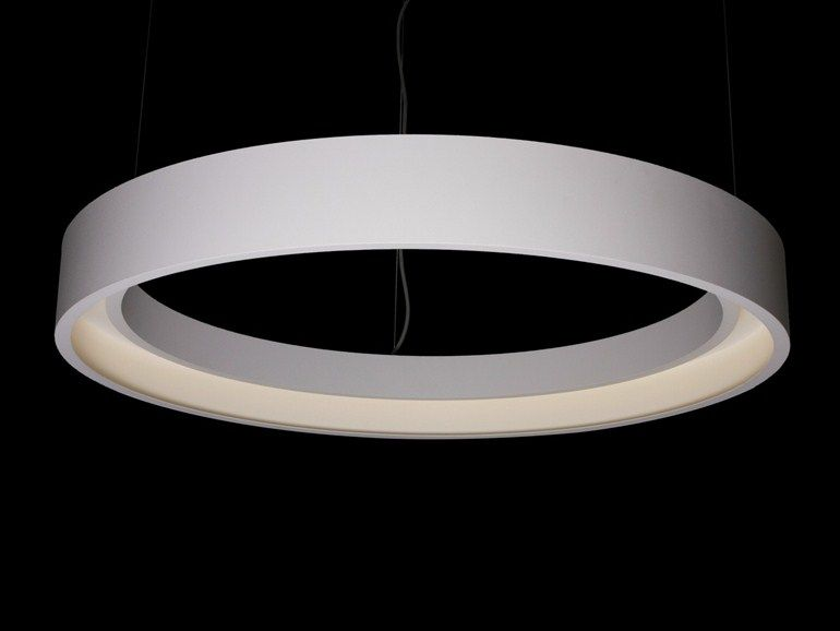 Led Lampen Direct : Led direct light rgb pendant lamp hoop hoop collection by tossb