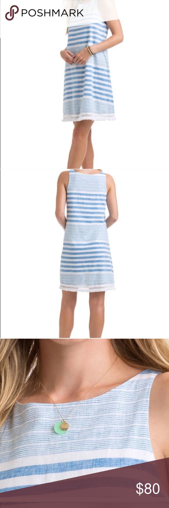 Nwt Vineyard Vines Vineyard Stripe Dress Size 4 Nwt Blue And White Strip Dress From Vineyard Vines A Line Relaxed Fit Shift Dre Striped Dress Fashion Dresses [ 1740 x 580 Pixel ]