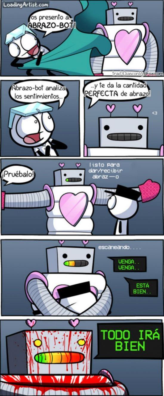 ★★★★★ Memes chistosos mexicanos: ¡Cuidado con los abrazos de los robots! I➨…