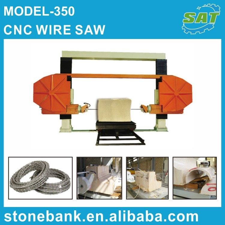 Model-350 CNC Wire Saw | 기계 | Pinterest | CNC and Stone