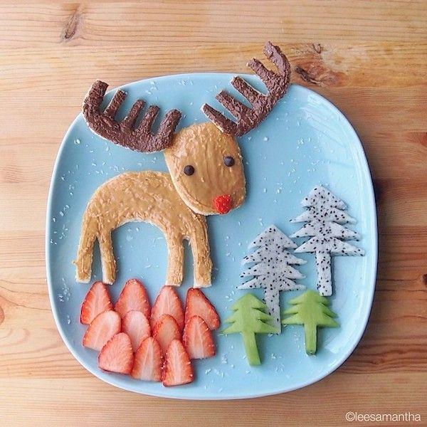 This Mom Turns Her Kids' Food Into Awesome Plates Of Art (Photos)   Elite Daily