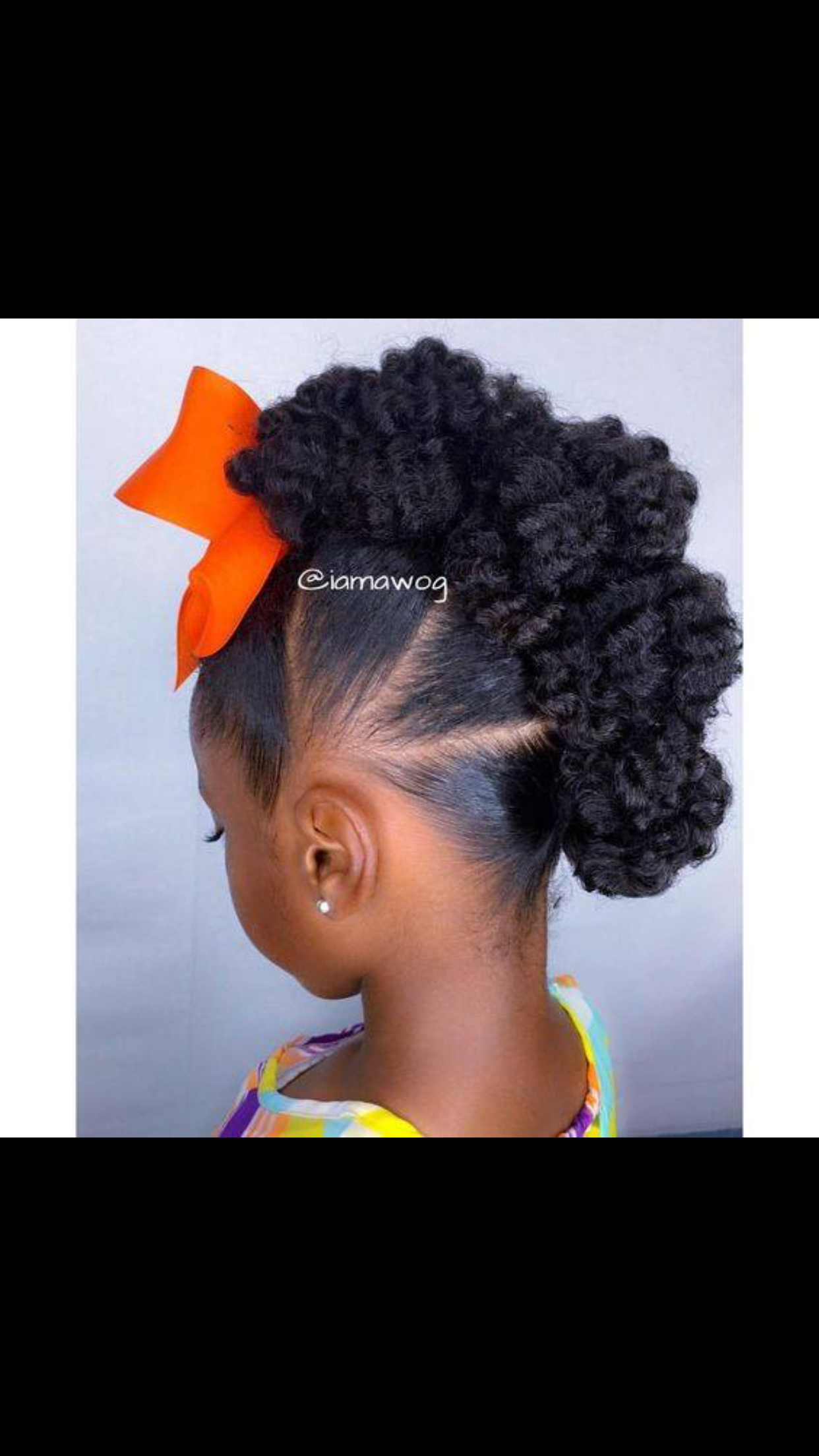 Pin By African American Hairstyles On Children Natural Hair Natural Hairstyles For Kids Kids Hairstyles For Wedding Natural Hair Styles