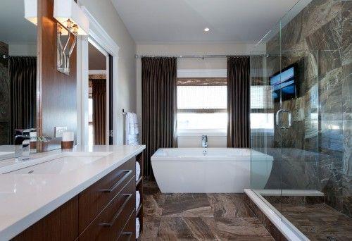 contemporary bathroom by Atmosphere Interior Design Inc Bathroom
