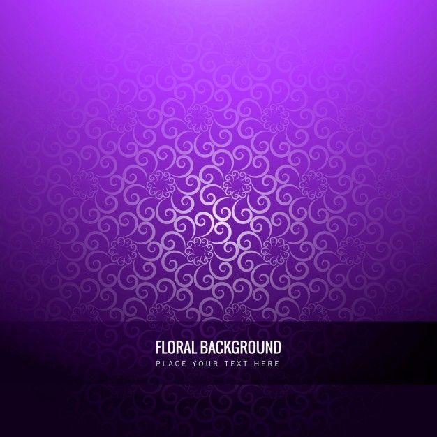 Download Violet Floral Background For Free Floral Background Vector Free Floral