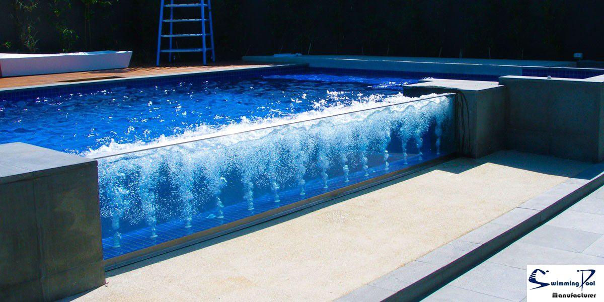 Glass Wall Swimmingpool Piscinas Incriveis Piscinas Modernas